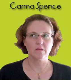 carma spence looking up