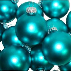turquoise Christmas ball