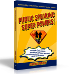 Public Speaking Super Powers 3D cover