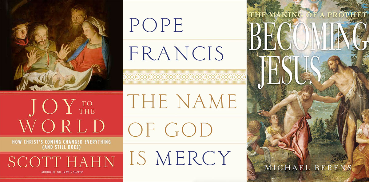 Three books about Christian faith