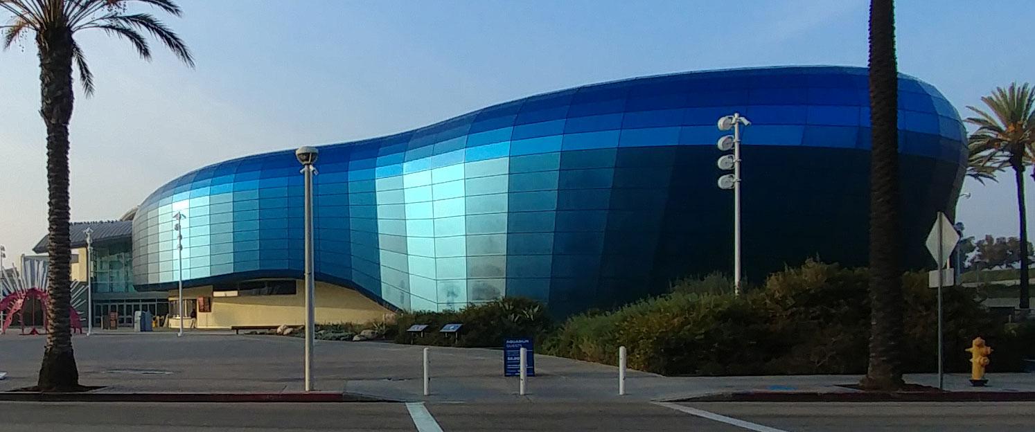 The New Aquarium of the Pacific exterior