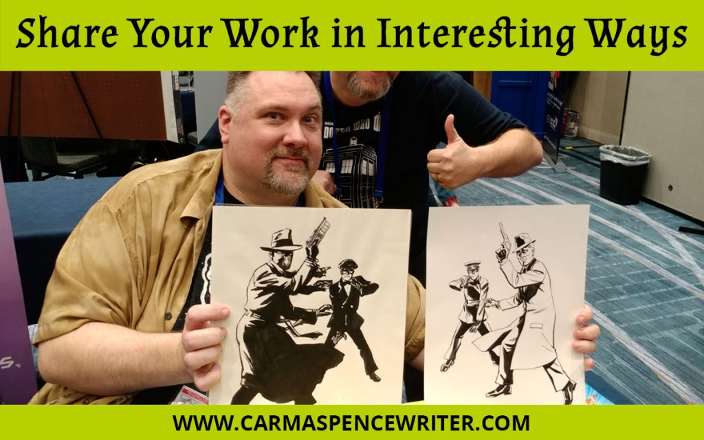 Share Your Work in Interesting Ways