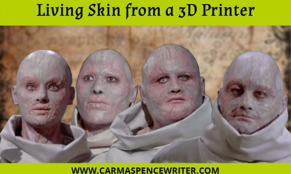 Living Skin from a 3D Printer