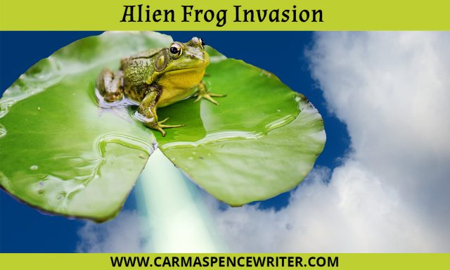 Alien Frog Invasion - Writing Prompts