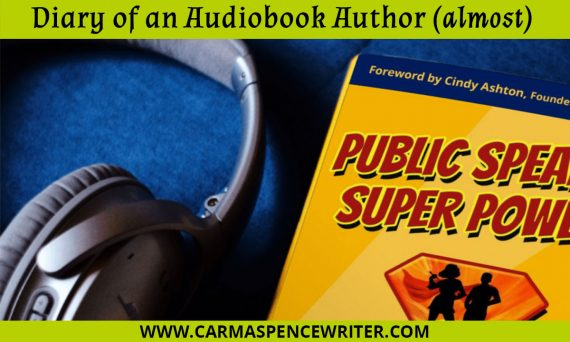 Diary of an Audiobook Author (almost)